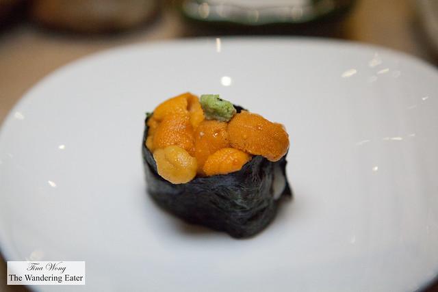My Hokkaido uni sushi