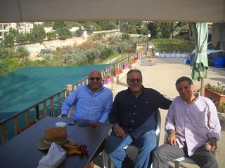 Talal, Gassan& Rabeeh Rassamny visit garden b Oct 23, | by toutberryfarms