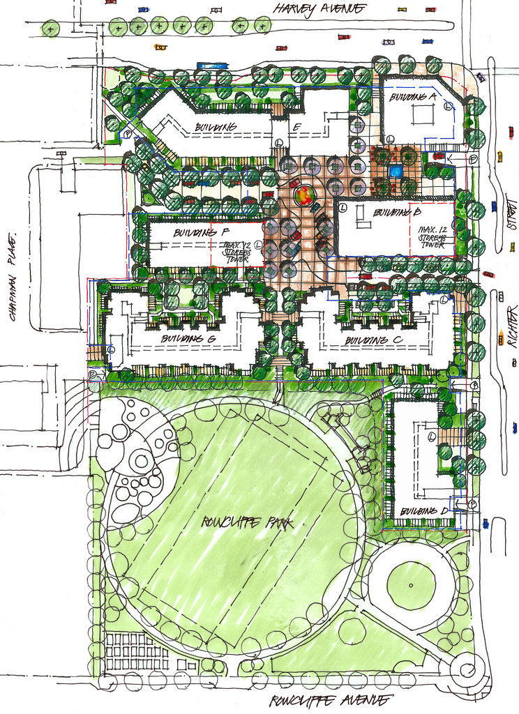 Central Green Site Plan Kelowna Central Green Dhzmedia Flickr