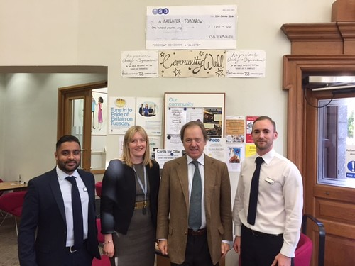 Sir Hugo Swire visits Exmouth TSB | by Hugoswire
