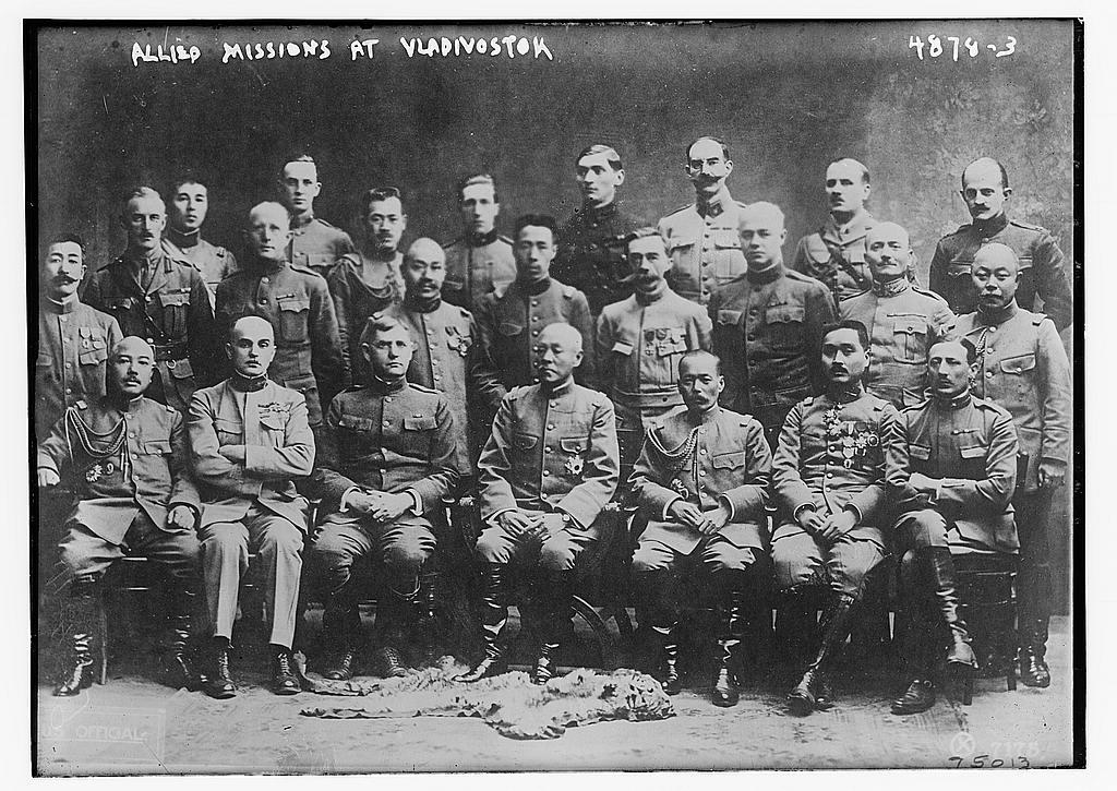 Allied missions at Vladivostock (LOC)