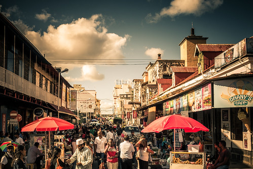 Port Louis Market Street | by Herr Olsen