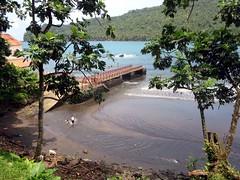 Wharf at Praia Sao João de Angolares