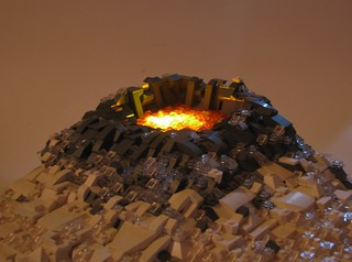 Volcano (lights)   by W. Navarre