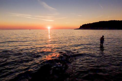 sunset sea color beach contrast serbia novisad vojvodina srbija zlatkovickovicphotography