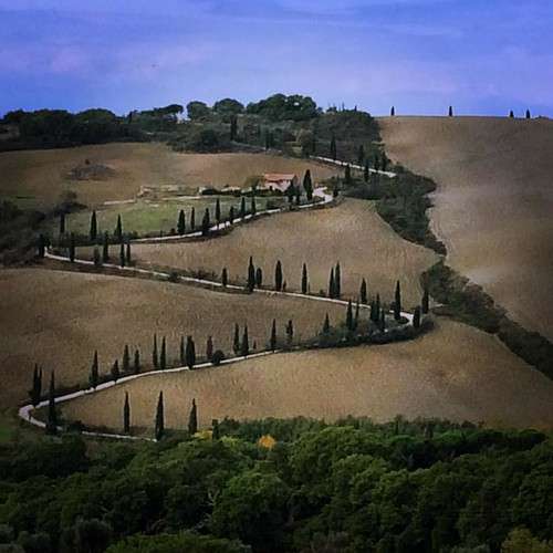 Val d'Orcia #toscana #valdorcia #petitsplaers | by mrius68