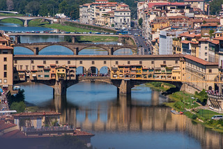 The Ponte Vecchio | by Tracy Russo