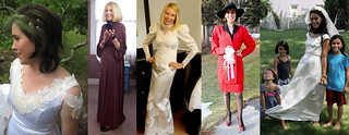 The #iwillwearwhatilike Wearing My Wedding Dress challenge | by Not Dressed As Lamb