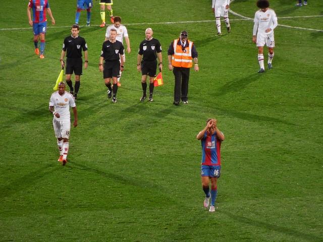 Crystal Palace v Man United