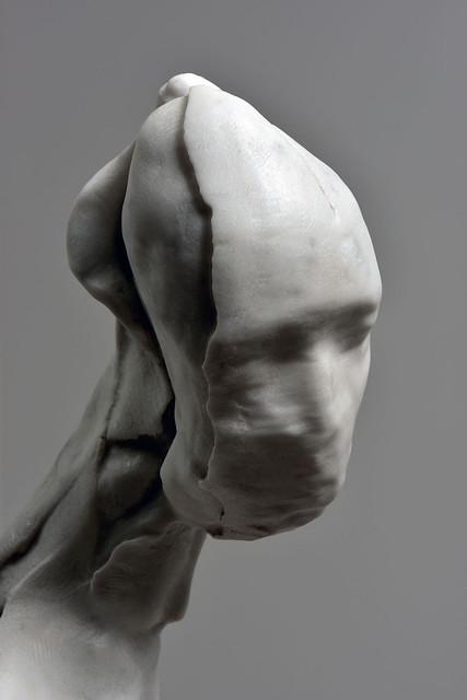 Nicola Samorì — Carrara Marble, 2014 | Marble | Art of Darkness Daily Art Blog | Nicola Samorì — Carrara Marble (Details), 2014Sculpture: Marble, 60 x 33 x 26 cm // via Art of Darkness: Daily Art Blog