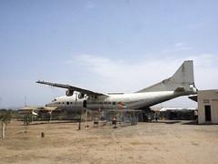Massawa , Eritrea Remains of an Antonov Aeroflot An-10A