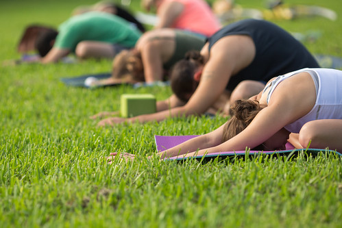 Crescen Lake Yoga In the Park | by CityofStPete