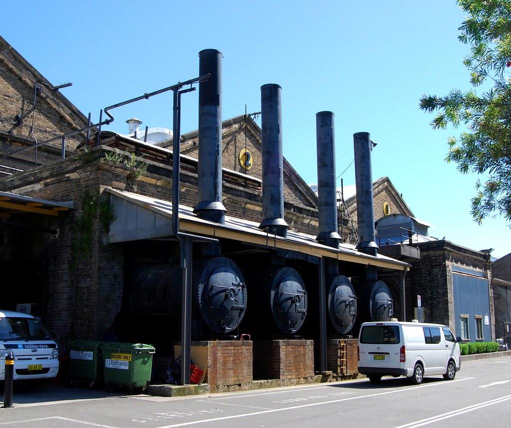 Ex Standard Goods Boilers, Ex Eveleigh Loco Depot, Eveleigh, Sydney, NSW.
