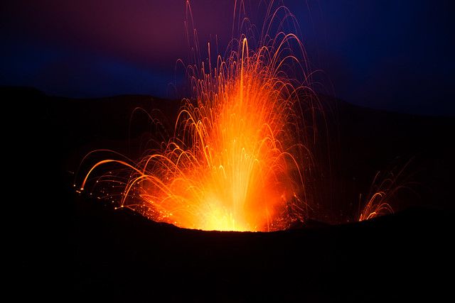 Being in front of a live Volcano on a remote Island in Vanuatu has to be a fantastic reason to Travel