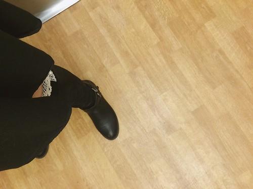 2015 kneesocks boots accidentalselfie accident