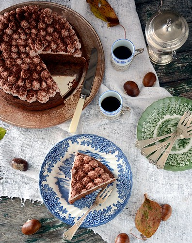 Torta di castagne   by essenzadivaniglia