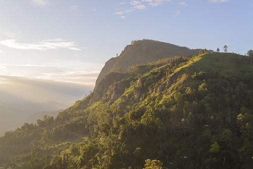 sunrise ella srilanka ceylon backlit sonnenaufgang gegenlicht centralhighlands hochland ellagap