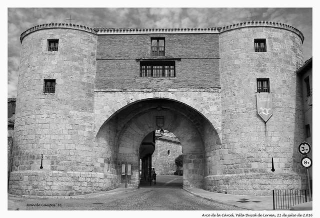 Arco de la Cárcel, Lerma (Burgos)