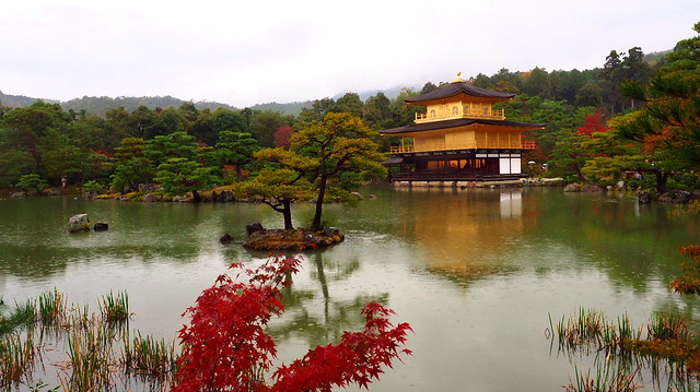 kyoto kinkaku-ji temple 金閣寺