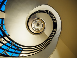 Spiral Staircase - view up | by K.H.Reichert [ ... ]