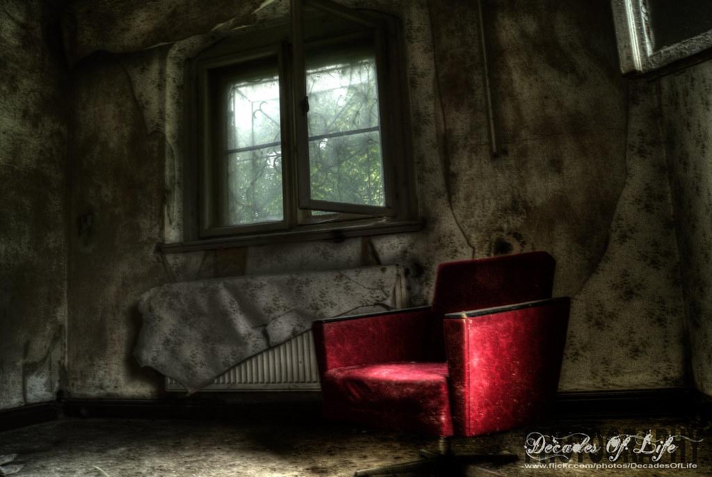 seat in the dark