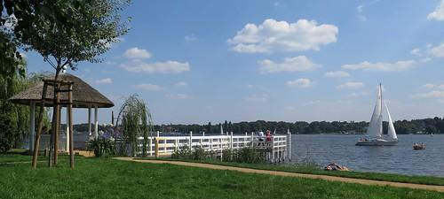 lake berlin garden see haus painter villa impressionism ufer garten wannsee maler maxliebermann teepavillon