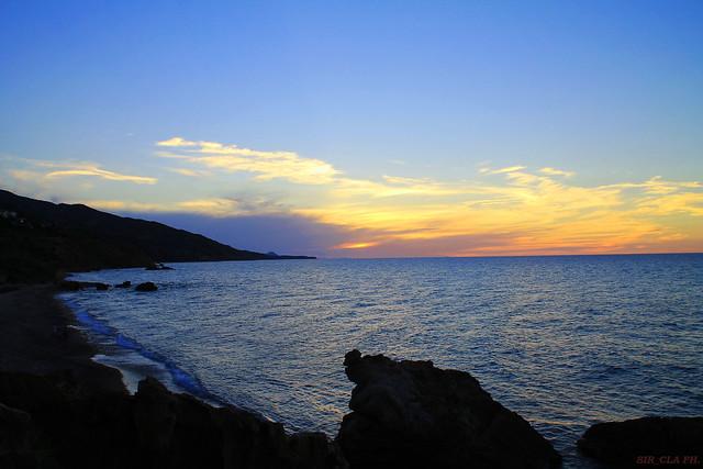 Sicily, the magic sky