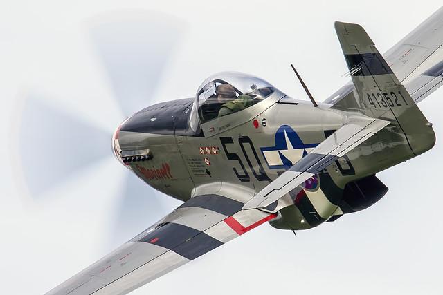 P-51 Mustang. G-MRLL.