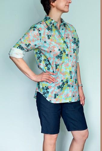 Maxiflora Shirt front | by ModernPrintCraftLiz