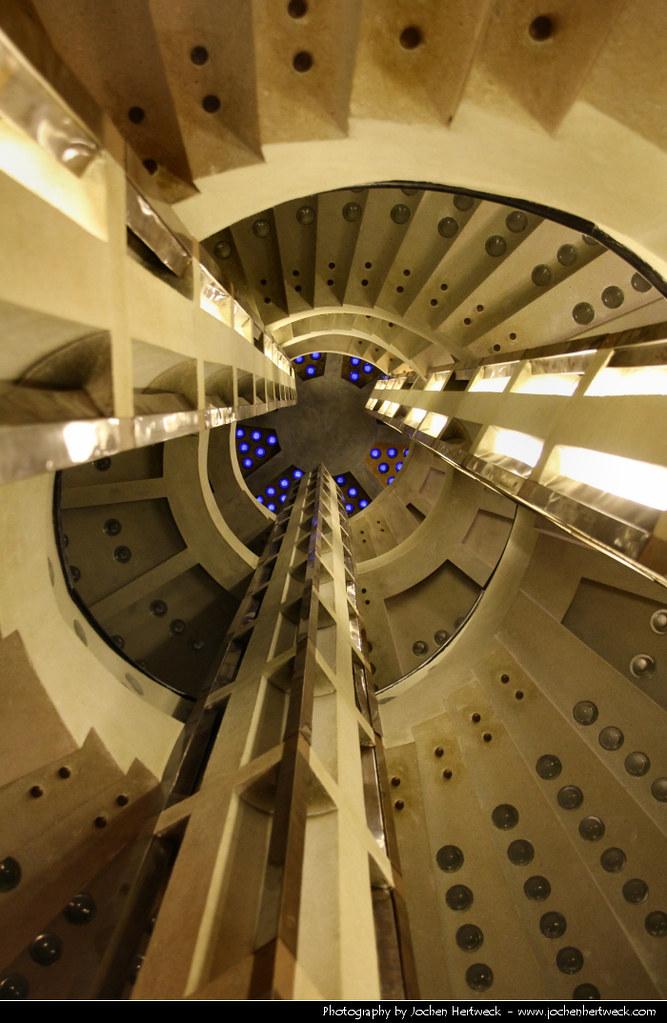 Art Deco Staircase Haus Atlantis Bremen Germany Flickr