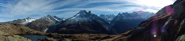 Le plus beau Panorama des Alpes The most beautiful panorama of the Alps