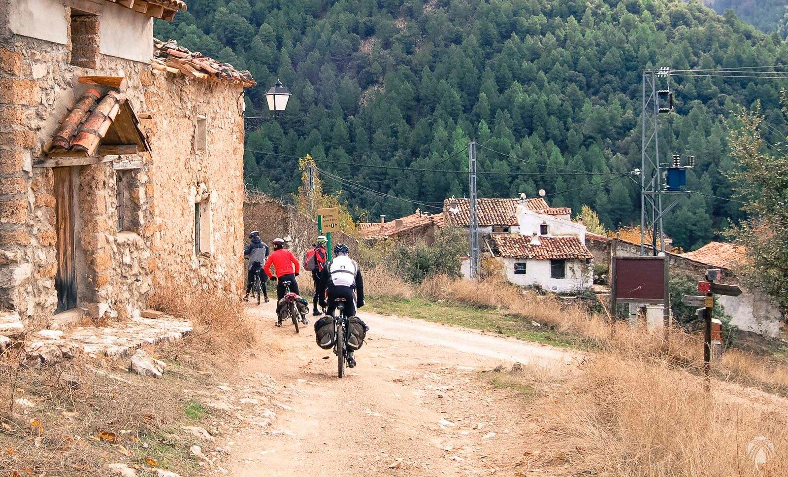 Llegando a Prado Maguillo