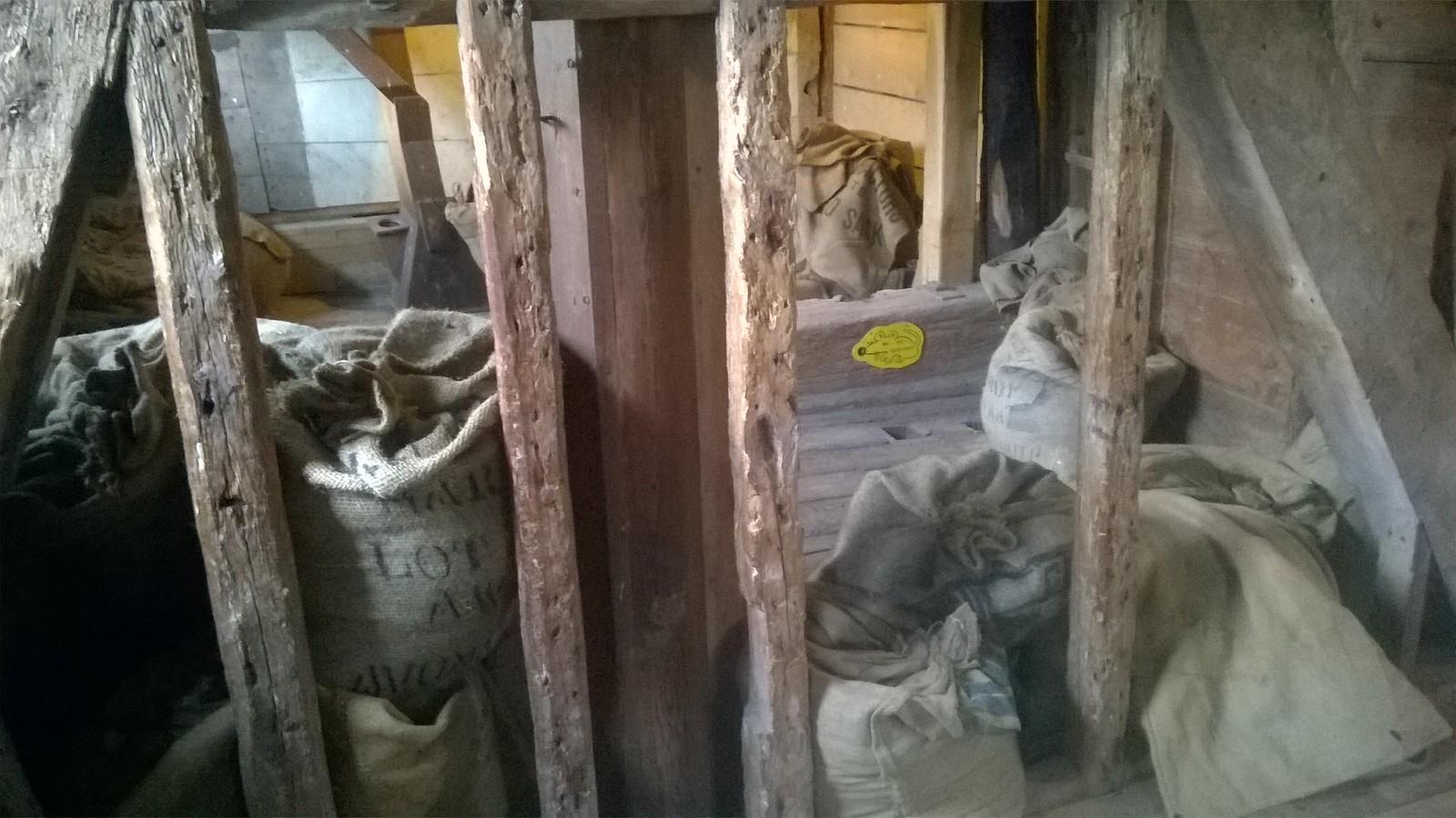 Inside Houghton Mill