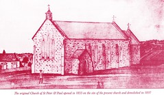 First SS Peter & Paul church