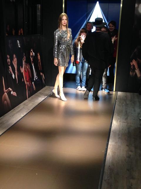 Cara Delevingne figure at Madame Tussauds London