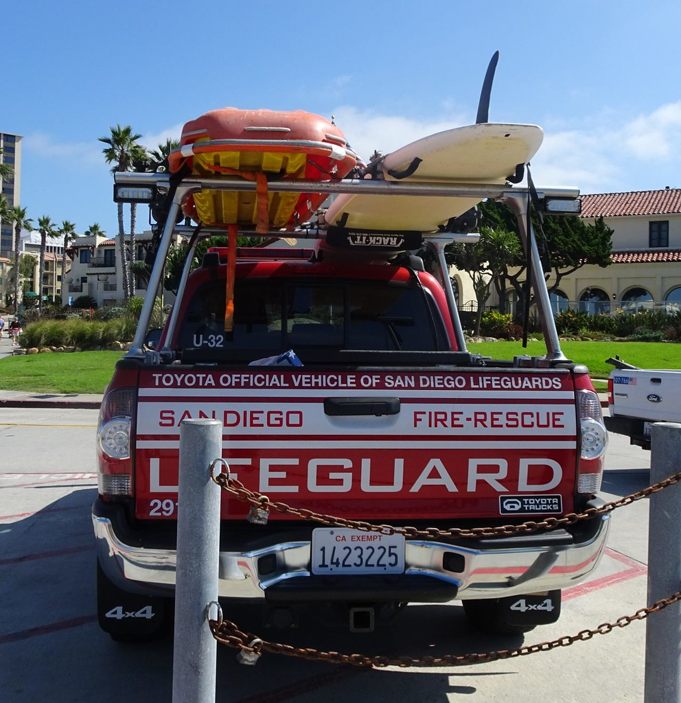 San Diego CA Fire Rescue Lifeguard - Toyota Tacoma (4)   Flickr