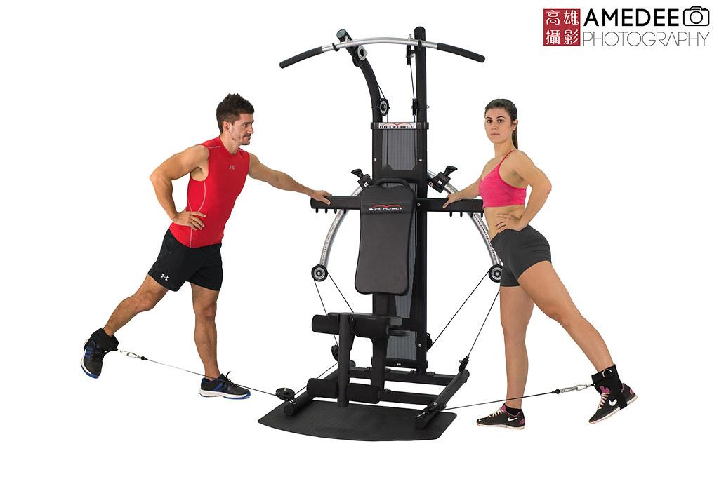 明煌家庭健身器材商品拍攝