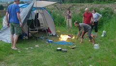 Ramp op het nippertje voorkomen op camping in Mayrhofen!