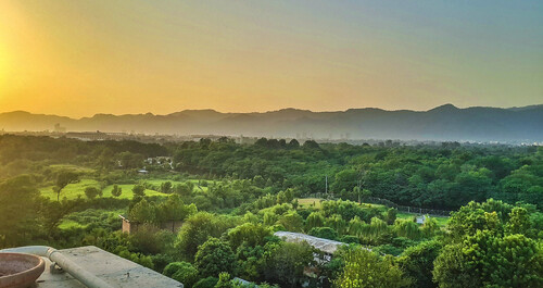 trees pakistan sunset mountains hills hdr islamabad margalla thegoldenhour margallahills
