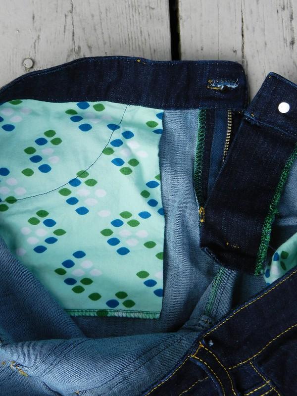 Ginger inner pocket detail