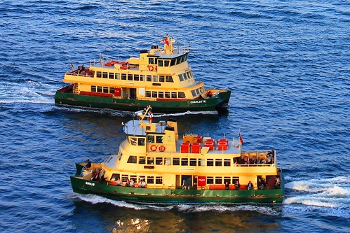 Sydney ferries Charlotte and Sirius on Sydney Harbour | by mertie.