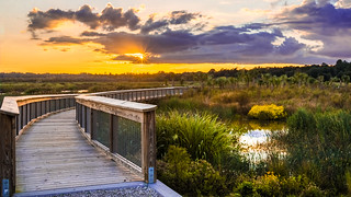 Sunset at Sweetwater Wetlands 1 | by hetrickwesley