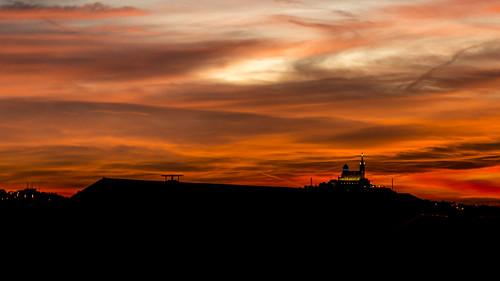 coucher de soleil sur Notre Dame de la Garde | by Bernard Ddd