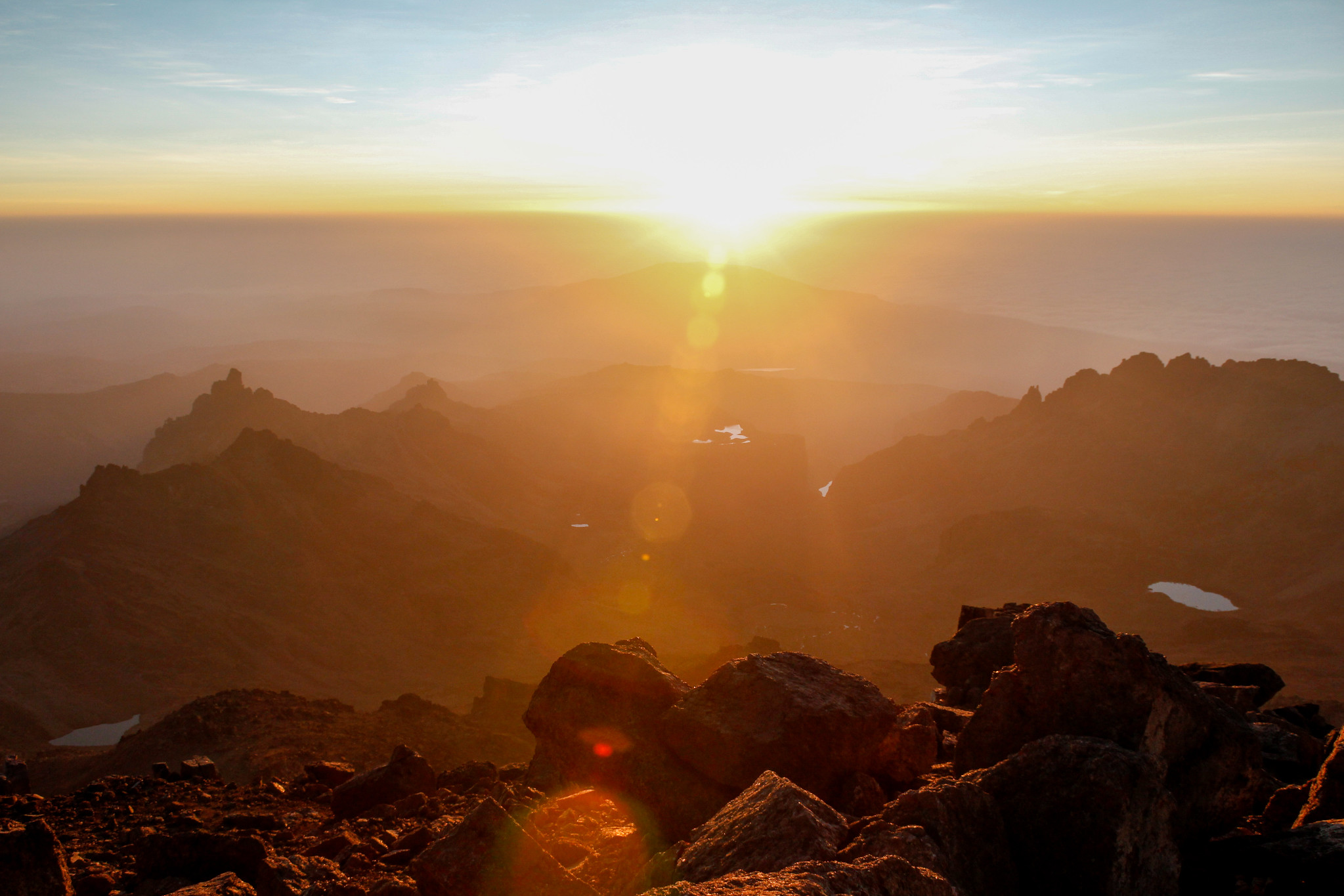 Mount Kenya National Park - Hiking & trekking in Africa