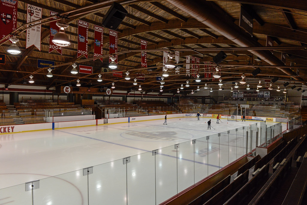 Appleton Arena, St. Lawrence University, Canton, New York