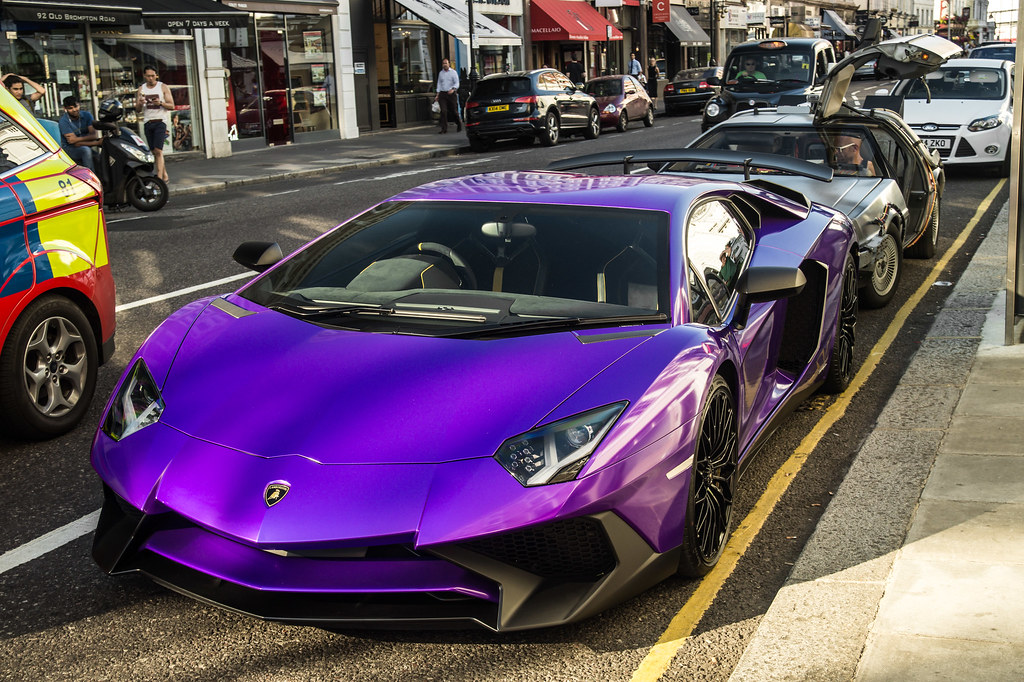 Purple Lamborghini Jan Seyferle Flickr