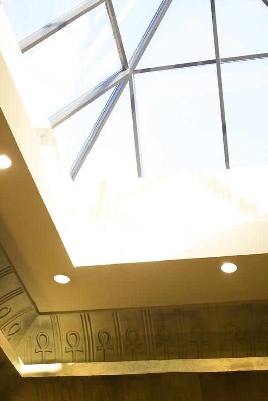 Ankh and skylight