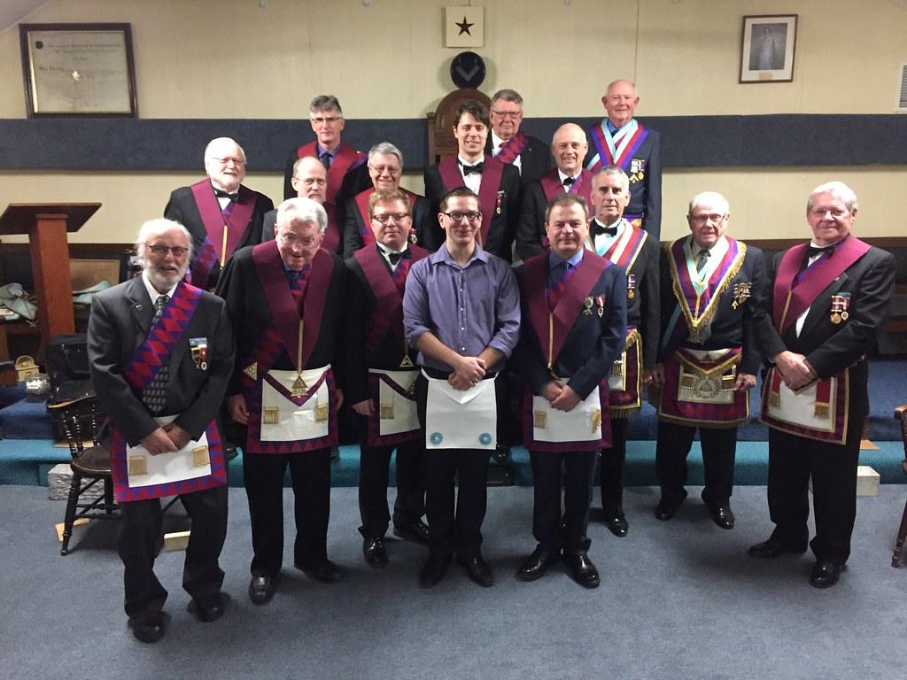 Phoenix Chapter No. 34 Mark Master Mason degree at Cookstown Masonic Hall