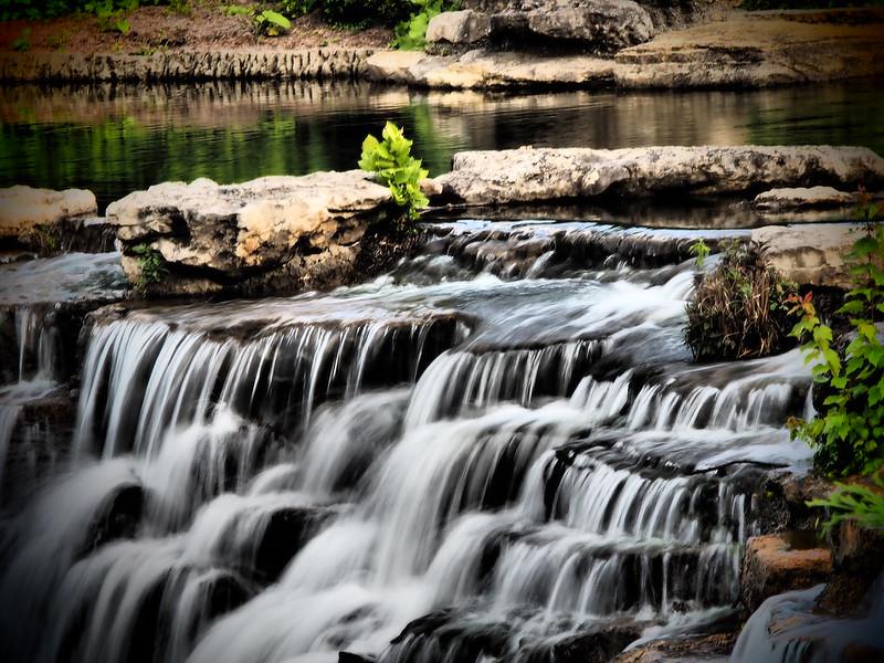 Waterfalls in Olympus Dramatic Tone Filter