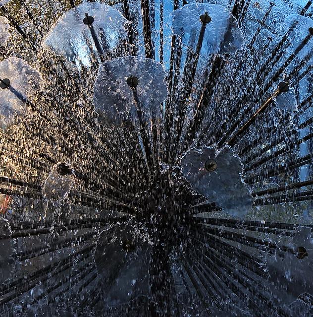 Fountain at Linnanmäki